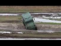 Торос - поперечно-диагональное преодоление водного припятствия